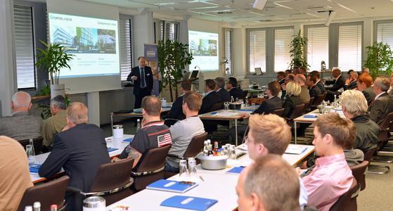 Dr.-Ing. Gunther Kegel, Vorsitzender der Geschäftsführung bei Pepperl+Fuchs, referierte über Industrie 4.0 aus Sicht der Automatisierungstechnik. Bild: WITRON.