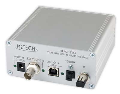 HiFace EVO - Neues 192 kHz USB Digital-zu-Digital-Audio-Interface von M2Tech
