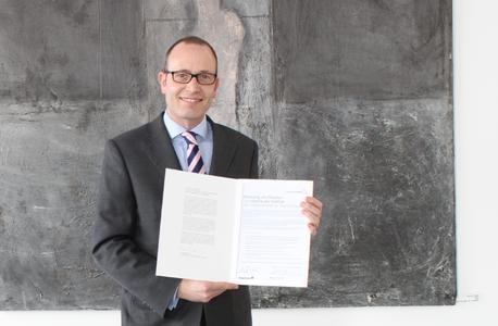 Arnulf Piepenbrock hat die Charta der Vielfalt unterzeichnet. © Piepenbrock