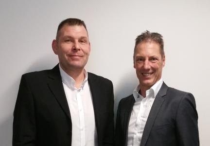 Helmut Haider (RHI Magnesita) und Dr. Harald Schrenk (Cideon) sind hoch zufrieden mit dem Ergebnis / Quelle: CIDEON Software & Services GmbH & Co. KG an