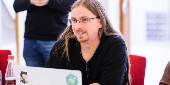 Softwareentwickler Steve Ulrich (Micromata)