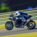 Nate Kern on BMW R nineT Racer - Photos: Etech