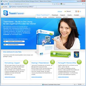 Website TeamViewer
