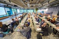 Über 120 Gäste kamen zur ersten CO2nferenz der Effizienz-Agentur NRW nach Düsseldorf. Foto: EFA