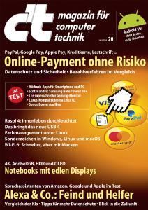 c't 20/19 Titelblatt