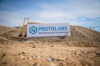 Spatenstich neues Produktionsgebäude Protolabs  Photo: Protolabs Germany GmbH