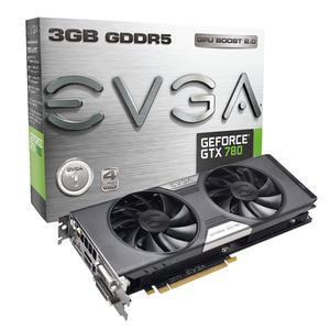 EVGA GeForce GTX 780 ACX, 3072 MB DDR5, DP, HDMI, DVI