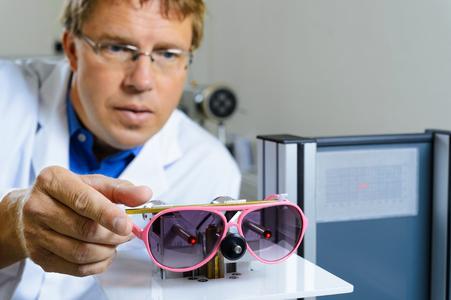 Test von Sonnenbrillen