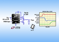 High Speed Synchronous N-Channel MOSFET Driver Delivers 5A for High Efficiency Buck or Boost DC/DC Converters