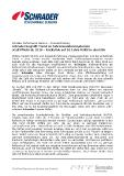 [PDF] Pressemitteilung: Schrader begrüßt Trend zu Fahrerassistenzsystemen eCall Pflicht ab 2018 - Rückblick auf 10 Jahre RDKS in den USA