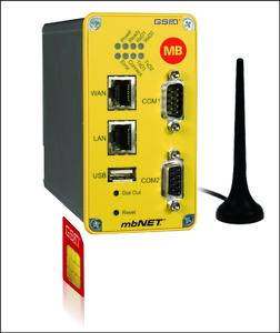 Industrie-Router mbNET GSM