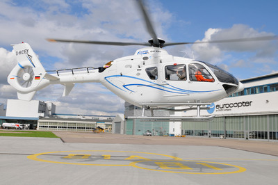 Eurocopter Vostok delivers the first EC135 helicopters equipped with Russian-built avionics to Gazpromavia