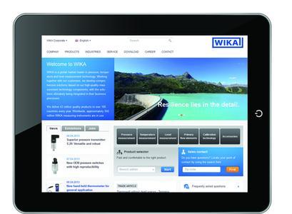 WIKA Website