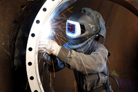 Safer Welding with FlexView and Respiratory Protection
