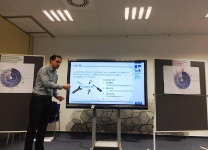 Robert Mothes erläutert die Bedeutung von Lean 4.0 für die Arbeitswelt 4.0