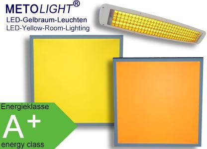 Metolight LED-Gelbraum-Leuchten