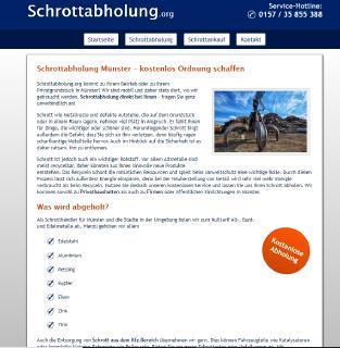Wir holen in Münster und Umgebung Ihren Metallschrott ab – Schrottabholung Münster