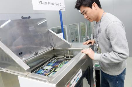 LG G6 Wassertest