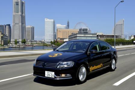 Seit 2014 testet Continental automatisiertes Fahren auf öffentlichen Straßen in Japan. Die Tests sind wichtig, damit Fahrzeughersteller ihre Serienproduktion Schritt für Schritt mit einer Technik ausrüsten können, die an lokale Besonderheiten angepasst ist, © Continental AG