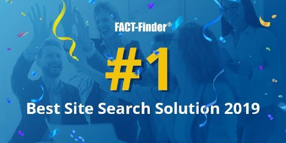 FACT-Finder erhält den Titel ″Best Site Search Solution 2019″