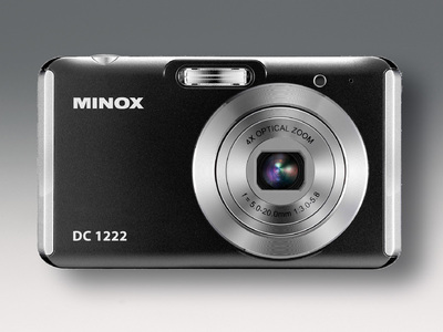 MINOX DC 1222: compact and convenient 12 megapixels, 4x zoom and 28 mm wide-angle lens