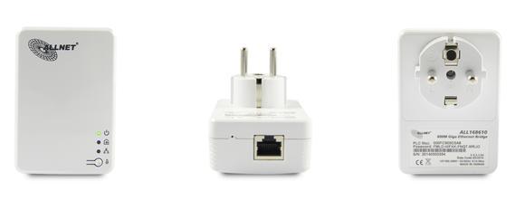 Neue ALLNET Powerline Adapter mit SmartLink Funktion sind ab sofort erhältlich