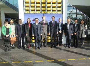 German Logistics Centers Welcome a Visit from Chinese Vice-Minister of Transport