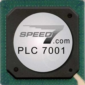 PLC 7001 High-Speed I/Os on board