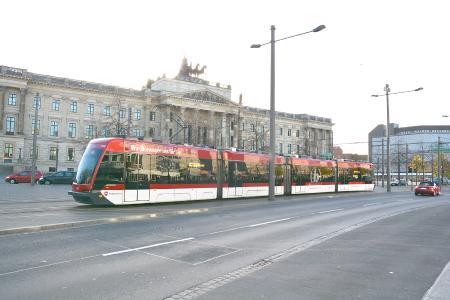 A Braunschweig Solaris Tramino from the first series / © Braunschweig Verkehrs GmbH