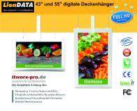 LionDATA Digitale Deckenhänger