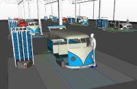 Flexible Zellenfertigung Software 3D