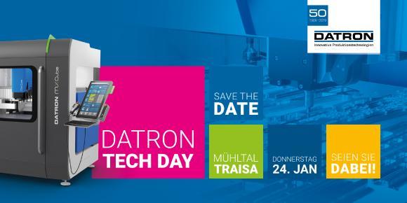 DATRON Tech Day 2019