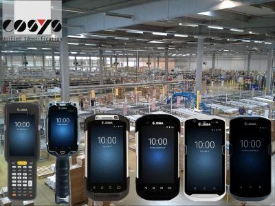 Moderne Zebra Mobile Computer mit Android für mehr Produktivität Ihrer Mitarbeiter