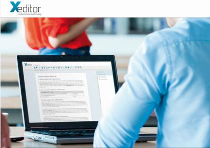 Xeditor is the future oriented alternative to the conventional HTML and Text Editors!