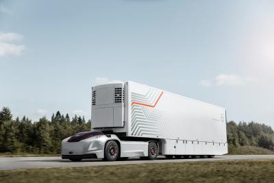 Volvo Trucks VERA. Gewinner Europäischer Transportpreis für Nachhaltigkeit. Kategorie Mobilitätskonzepte