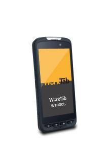 WorkTab Presents Updated Handheld PDA WT8005 With Zebra 2D Scanner