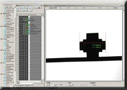 Objekt Matching mit der EyeVision Software