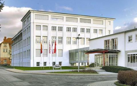 """Vertriebs- und Applikationszentrum von Mahr am Firmensitz Göttingen:Veranstaltungsort vom """"Mahr Technologietag 2009"""" und dem """"Mahr Symposium 2009"""" ."""