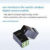 ams announces the pre-release of the miniature NanEyeC image sensor