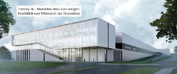 """""""Factory 56"""". Mercedes-Benz Cars steigert Flexibilität und Effizienz in der Produktion"""