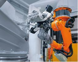 KUKA Roboter GmbH offers a vast range of industrial robots and robotic systems that spans all load capacities and robot types commonly found on the market