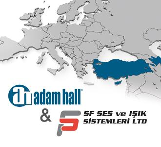 Adam Hall Group announces SF SES for exclusive Distribution in Turkey