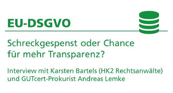 Interview zur EU-DSGVO