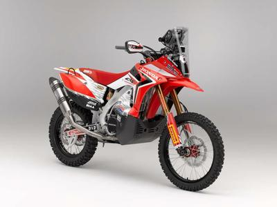 Mit Honda zur Dakar Rallye: CRF450 Rally
