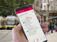 Vielfahrer können ihre bevorzugten Strecken und Abfahrtszeiten speichern und erhalten von der App Pendleralarme, je nach Einstellung immer oder nur bei Störungen und Änderungen / Bild: INIT