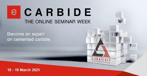 eCarbide - Die Online-Seminarwoche