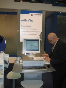 Teraport at enteo partner exhibition booth  2