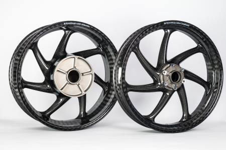 The braided carbon wheels from thyssenkrupp have a worldwide road approval / Source: thyssenkrupp Carbon Components GmbH
