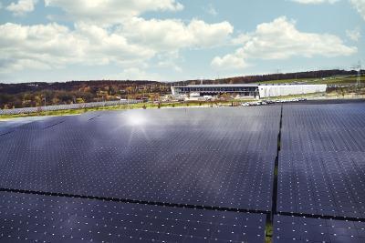 Solaranlage der SMA Solar Technology AG