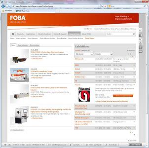 FOBA Website EXHIBITION CALENDAR